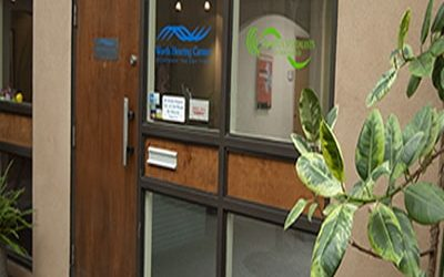 image of office entrance in Albuquerque