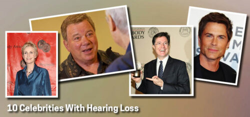 Celebrities who have Hearing Loss